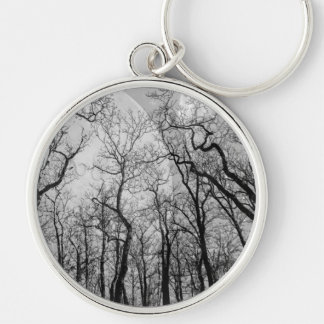 """Abstract  forest """"customize color"""" key chain"""