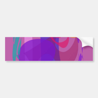 Abstract Forest Image Cool Soft Bumper Sticker