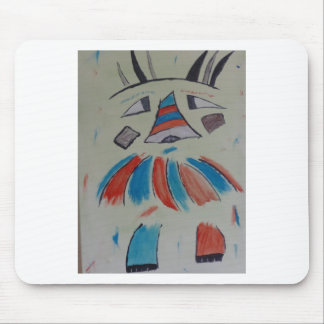 Abstract Fox - by S.B. Eazle Mouse Pad