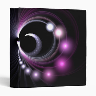 Abstract Fractal Background Vinyl Binders