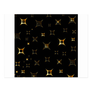 Abstract fractal background postcard