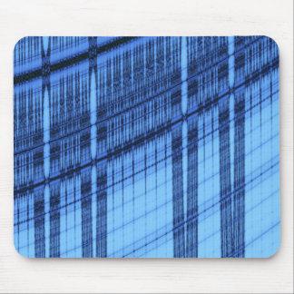 Abstract Fractal Blueprint Mousepad