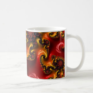 Abstract fractal cuff RNS and shapes. Fractal kind Coffee Mug