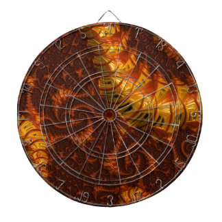 Abstract fractal cuff RNS and shapes. Fractal kind Dart Board