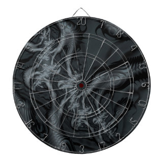Abstract fractal cuff RNS and shapes. Fractal kind Dart Boards