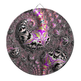 Abstract fractal cuff RNS and shapes. Fractal kind Dartboard