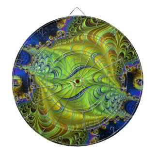 Abstract fractal cuff RNS and shapes. Fractal kind Dartboards