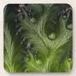 Abstract fractal cuff RNS and shapes. Fractal kind Drink Coaster