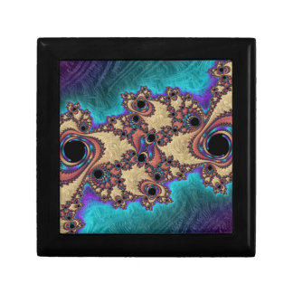Abstract fractal cuff RNS and shapes. Fractal kind Gift Box
