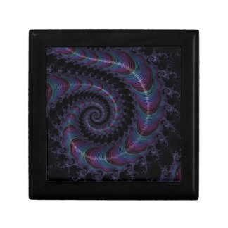 Abstract fractal cuff RNS and shapes. Fractal kind Jewelry Box
