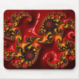 Abstract fractal cuff RNS and shapes. Fractal kind Mouse Pad