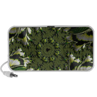 Abstract fractal cuff RNS and shapes. Fractal kind Mp3 Speakers