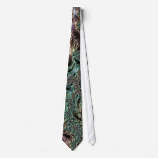 Abstract fractal cuff RNS and shapes. Fractal kind Neck Tie