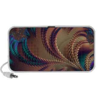 Abstract fractal cuff RNS and shapes. Fractal kind Notebook Speaker