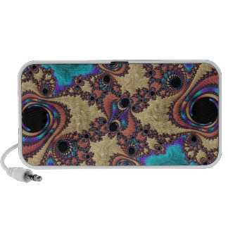 Abstract fractal cuff RNS and shapes. Fractal kind Notebook Speakers
