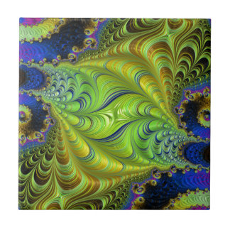 Abstract fractal cuff RNS and shapes. Fractal kind Tile