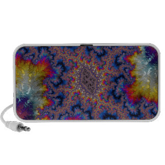 Abstract fractal cuff RNS and shapes. Fractal kind Travelling Speaker