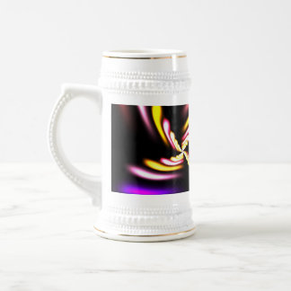 Abstract Fractal Design Beer Stein