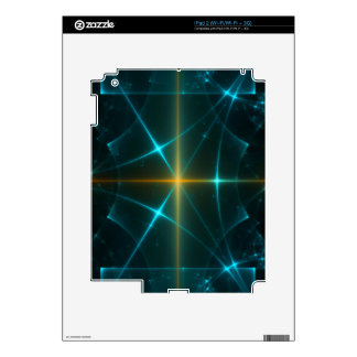 Abstract Fractal Fantasy Art Decal For The iPad 2