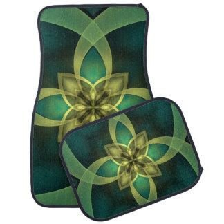 Abstract Fractal Floor Mat