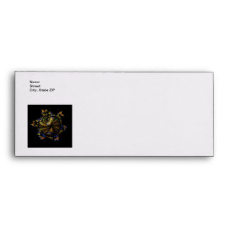 Abstract Fractal Globe Envelope