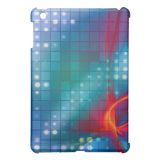 Abstract Fractal Grid Background Case For The iPad Mini