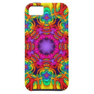 Abstract fractal kaleidoscope iPhone 5 case