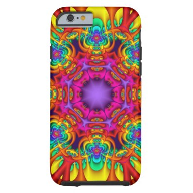 Abstract fractal kaleidoscope iPhone 6 case iPhone 6 Case