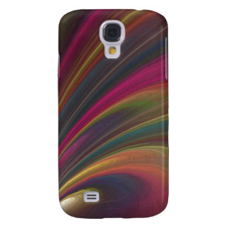 Abstract Fractal Lines Samsung Galaxy S4 Cases