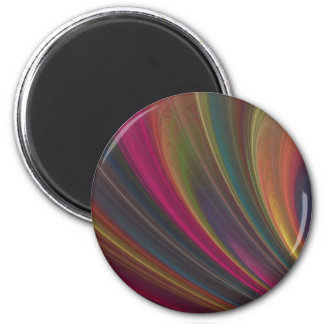 Abstract Fractal Lines Magnets