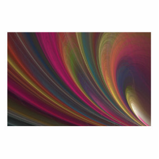 Abstract Fractal Lines Photo Cutout