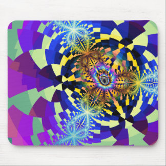 Abstract Fractal Mouse Pad