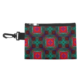 Abstract Fractal Pattern Accessory Bag