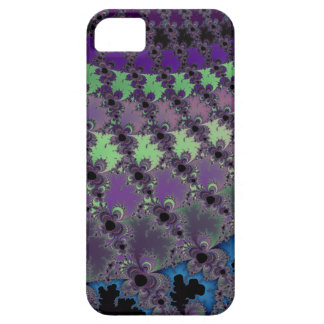 Abstract Fractal Pattern in Purples, Blues, Green iPhone SE/5/5s Case
