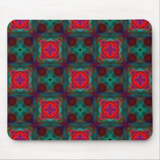 Abstract Fractal Pattern Mouse Pad
