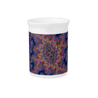 Abstract fractal patterns and shapes. Fractal espe Jarras Para Bebida