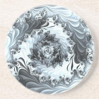 Abstract fractal patterns and shapes. Fractal espe Posavasos Manualidades