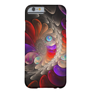 Abstract fractal Spiral Barely There iPhone 6 Case