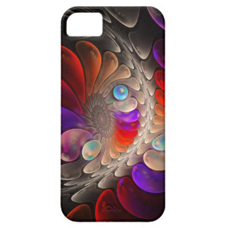 Abstract fractal Spiral iPhone 5 Cases