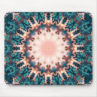Abstract Fractal Sun Mouse Pad