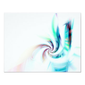 Abstract Fractal Swirl Textured Card