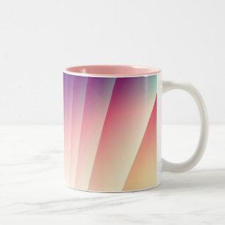 Abstract Fractals Two-Tone Coffee Mug