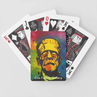 Abstract Frank Bicycle Playing Cards