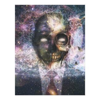 Abstract Freaky Skull Flyer