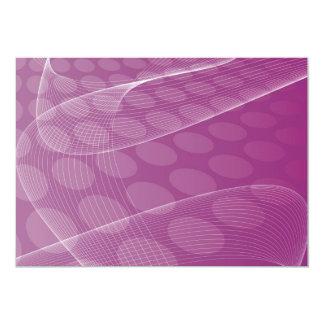 "abstract_free_vector_2 DIGITAL art wallpaper 5"" X 7"" Invitation Card"