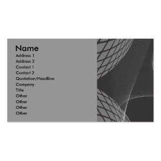 abstract_free_vector_32-2, Name, Address 1, Add... Double-Sided Standard Business Cards (Pack Of 100)