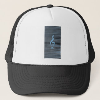 Abstract from the Heart: Lionel Trucker Hat