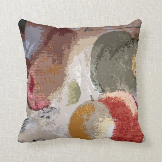 Abstract Fruit 2 (#6) Throw Pillow