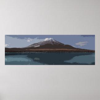 """""""Abstract Fuji Yama"""" - Poster"""