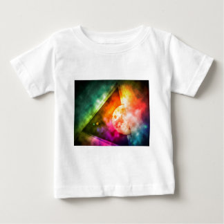 Abstract Full Moon Spectrum Baby T-Shirt